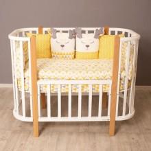 Детская кроватка Incanto Nuvola 3в1