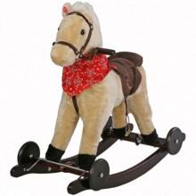 Качалка Jolly Ride Лошадка на колесиках. Характеристики.