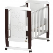 Кроватка для новорожденного Kitelli Amore колесо-качалка. Характеристики.
