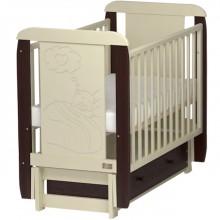 Кроватка для новорожденного Kitelli Amore продольный маятник. Характеристики.