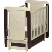 Кроватка для новорожденного Kitelli Micio продольный маятник. Характеристики.