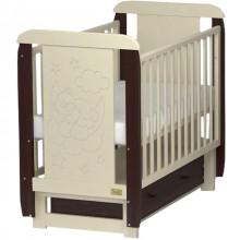 Кроватка для новорожденного Kitelli Orsetto поперечный маятник. Характеристики.