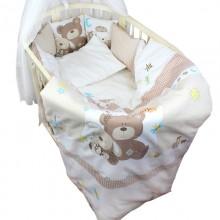 Комплект постельного белья Labeillebaby Малышки 7 предметов (овал)