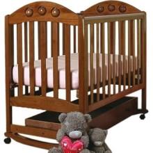 Кроватка для новорожденного Лель Орхидея качалка 24.1. Характеристики.