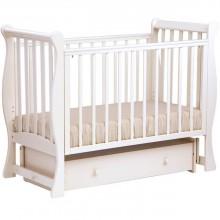Кроватка для новорожденного Лель Лаванда поперечный маятник. Характеристики.