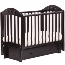 Кроватка для новорожденного Лель Орхидея продольный маятник 24.3. Характеристики.