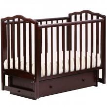 Детская кроватка Лель Жасмин поперечный маятник