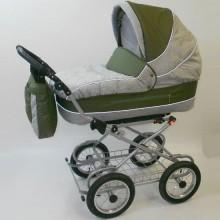 Коляска для новорожденного Little Trek Классика надувные колеса. Характеристики.