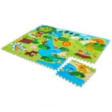 Игровой коврик Mambobaby Животный мир. Характеристики.