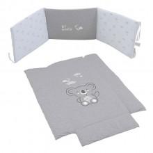 Текстиль Micuna Koala бортики+покрывало
