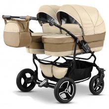 Детская коляска для двойни Mikado Tween 2 в 1