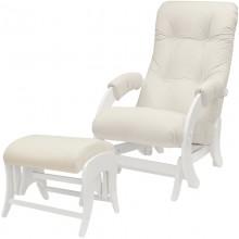 Кресло качалка с пуфиком Milli Smile