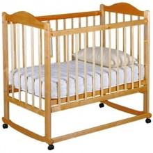 Детская кроватка Мой малыш 05 качалка с колесами