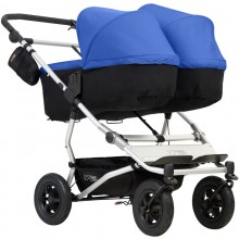 Коляска для двойни Mountain Buggy Duet 2в1. Характеристики.