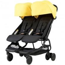 Прогулочная коляска для двойни Mountain Buggy Nano Duo. Характеристики.