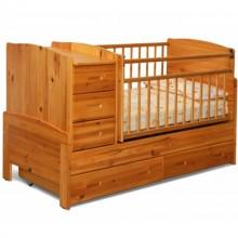 Кроватка для новорожденного Noony Wood Chalet маятник. Характеристики.