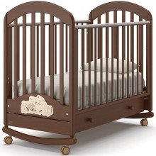 Кроватка для новорожденного Nuovita Grano Dondolo. Характеристики.