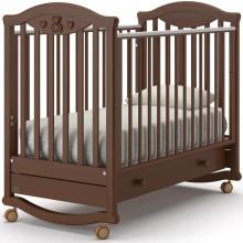 Кроватка для новорожденного Nuovita Lusso Dondolo. Характеристики.