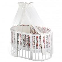 Кроватка для новорожденного Nuovita Nido Magia 8в1. Характеристики.