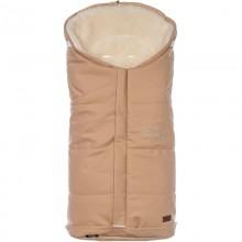 Меховой конверт из эко-кожи Nuovita Siberia Lux Bianco 90х45 см