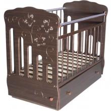 Кроватка для новорожденного Островок уюта Бабочки поперечный маятник. Характеристики.