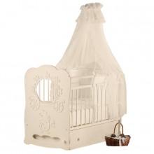 Кроватка для новорожденного Островок уюта Карета поперечный маятник. Характеристики.