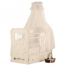 Кроватка для новорожденного Островок уюта Мальвина поперечный маятник. Характеристики.