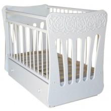 Кроватка для новорожденного Островок уюта Розали поперечный маятник. Характеристики.