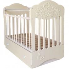 Кроватка для новорожденного Островок уюта Виола поперечный маятник. Характеристики.