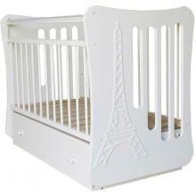 Кроватка для новорожденного Островок уюта Вояж поперечный маятник. Характеристики.