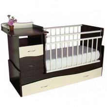 Кроватка для новорожденного Островок уюта Чунга Чанга маятник. Характеристики.
