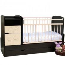 Кроватка для новорожденного Островок уюта Элис маятник. Характеристики.