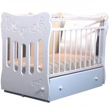 Кроватка для новорожденного Островок уюта Бантики поперечный маятник. Характеристики.