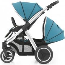 Прогулочная коляска для двойни Oyster Max Tandem. Характеристики.