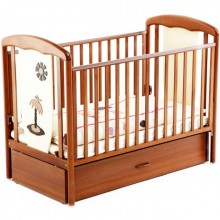 Детская кроватка Papaloni Vitalia маятник