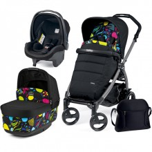 Коляска 3 в 1 Peg-Perego Book Plus Pop Up 3в1. Характеристики.