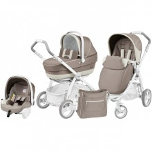 Коляска 3 в 1 Peg-Perego Book Plus Pure 3в1. Характеристики.