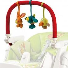 Дуга с игрушками Peg-Perego Play Bar High Chair