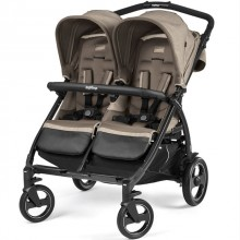 Коляска для двойни Peg-Perego Book For Two. Характеристики.