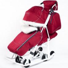Санки-коляска Pikate Снеговик. Характеристики.