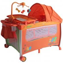 Манеж-кровать Pituso Flora. Характеристики.