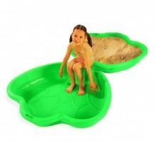 Песочница Пластик Песочница-бассейн крылья бабочки 2 шт.