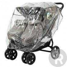 Дождевик для коляски для двойни Rant Чехол от дождя ПВХ