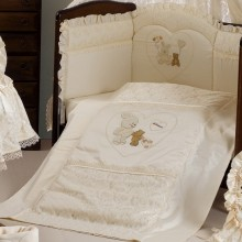 Комплект в кроватку Roman Baby Rubacuori 5 предметов. Характеристики.