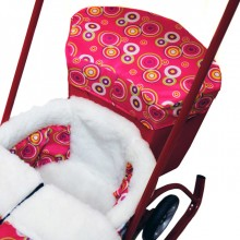 Аксессуар Санимобиль багажник на санки. Характеристики.