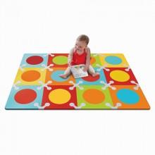 Игровой коврик Skip Hop Playspot Разноцветный. Характеристики.