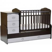 Кроватка для новорожденного СКВ Птички СКВ-9 маятник. Характеристики.