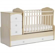 Кроватка для новорожденного СКВ СКВ-9 Жираф маятник. Характеристики.