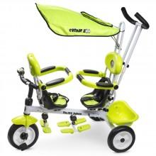 Велосипед для двойни Small Rider Cosmic Zoo Twins. Характеристики.