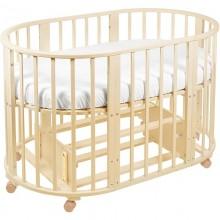 Кроватка для новорожденного Sweet Baby Delizia с маятником. Характеристики.
